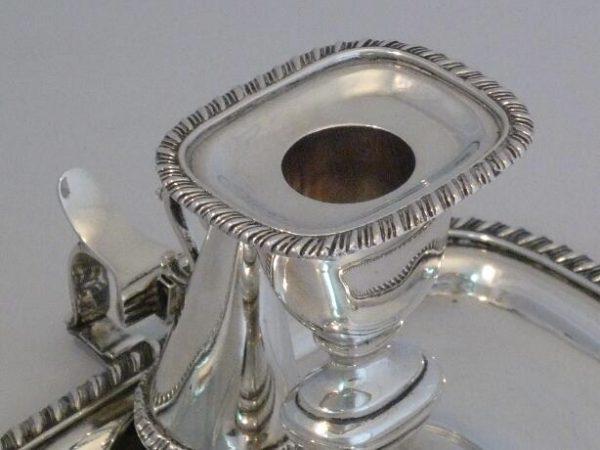 A Victorian Chamberstick -4466